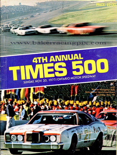 1977 Los Angeles Times 500