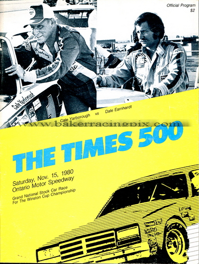 1980 Los Angeles Times 500