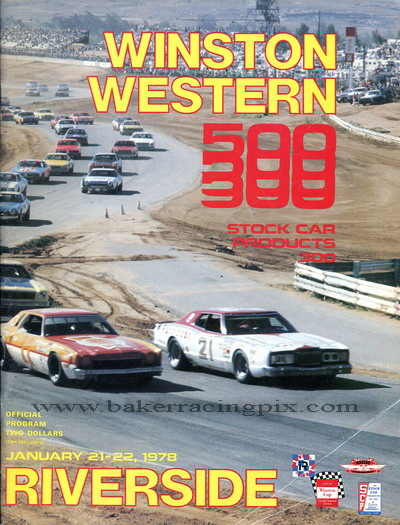 1978 Winston Western 500/Stock Car Products 300