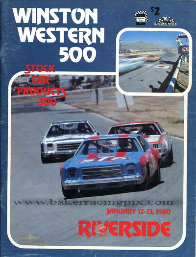 1980 Winston Western 500/Stock Car Products 300